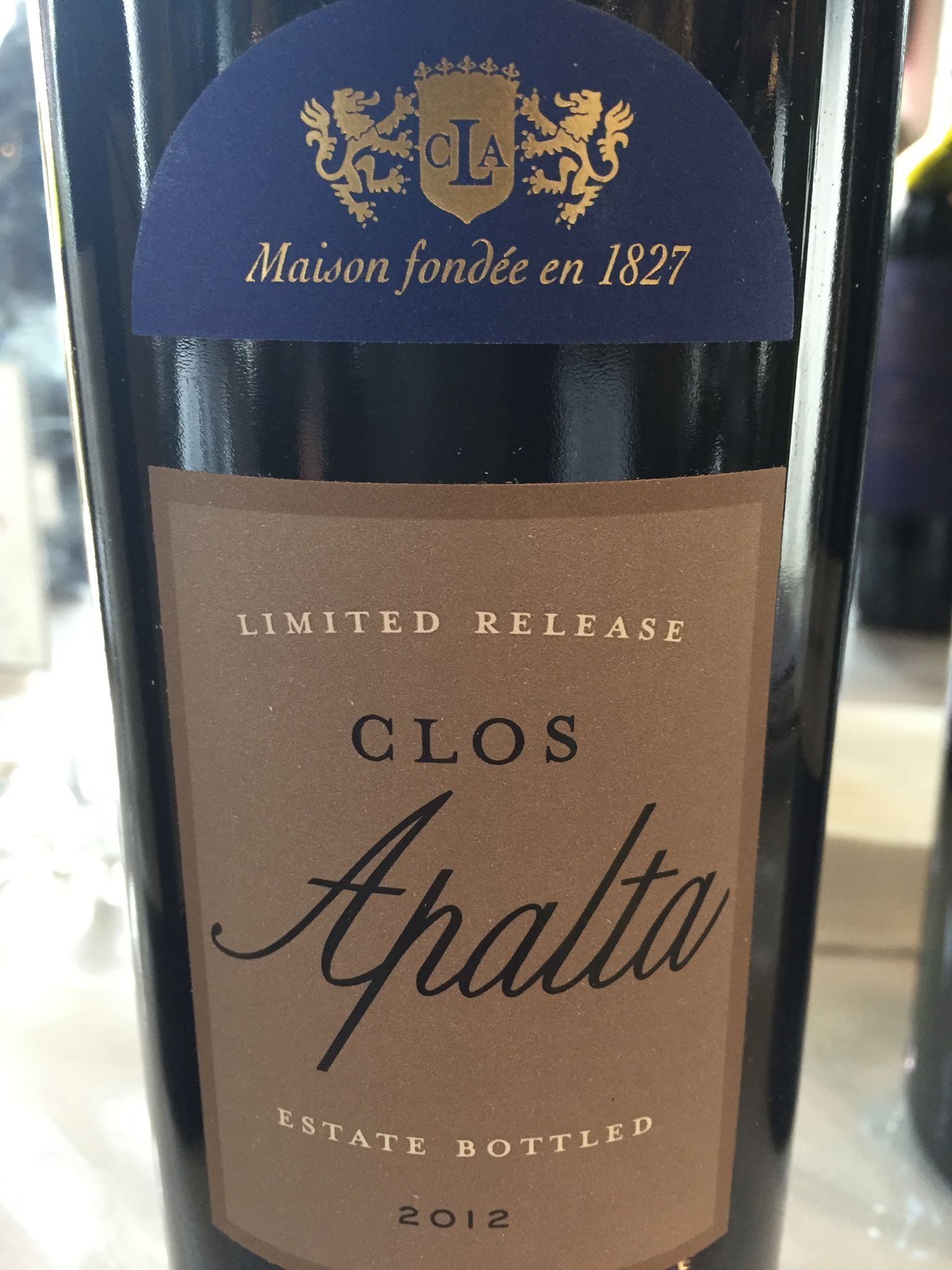 Clos L'apalta – 2012 Limited Release – Colchagua Valley