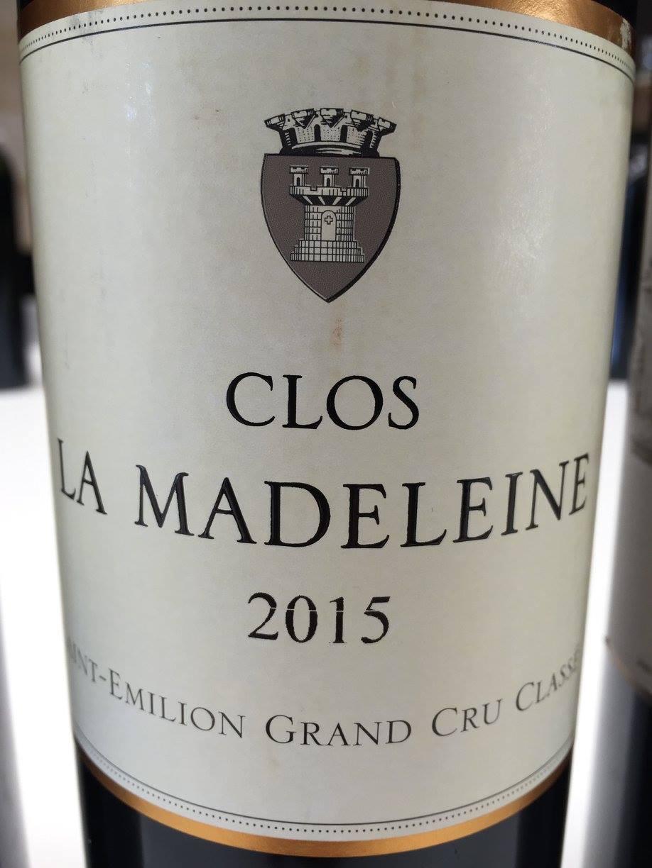 Clos La Madeleine 2015 – Saint-Emilion Grand Cru Classé