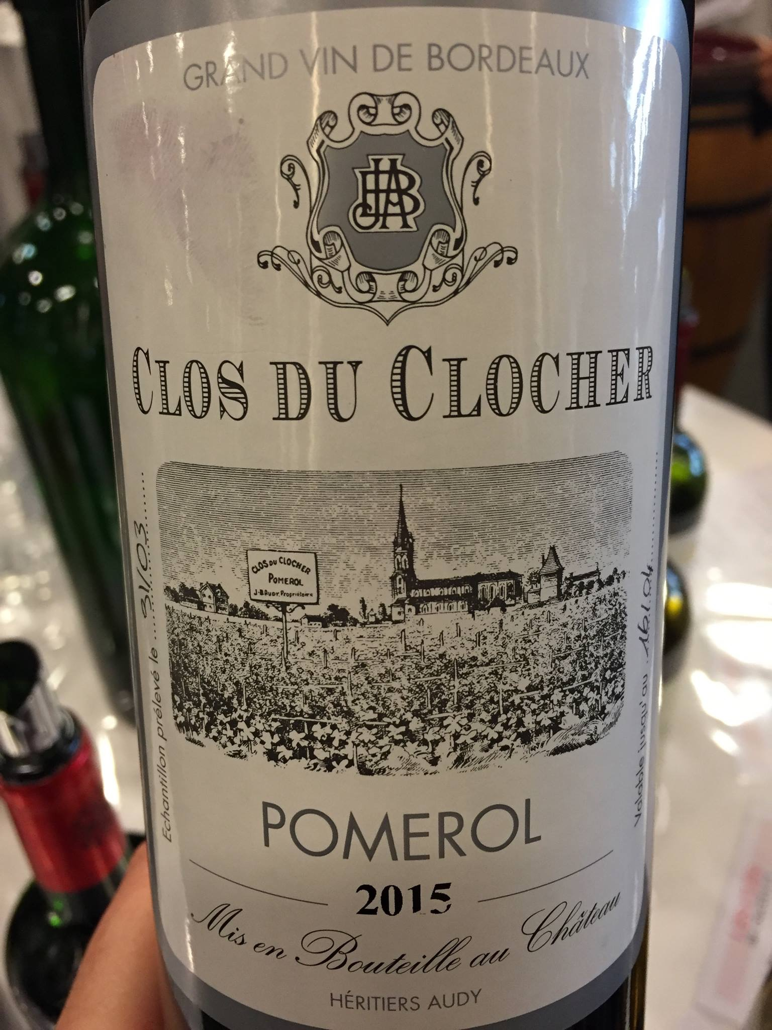 Clos du Clocher 2015 – Pomerol