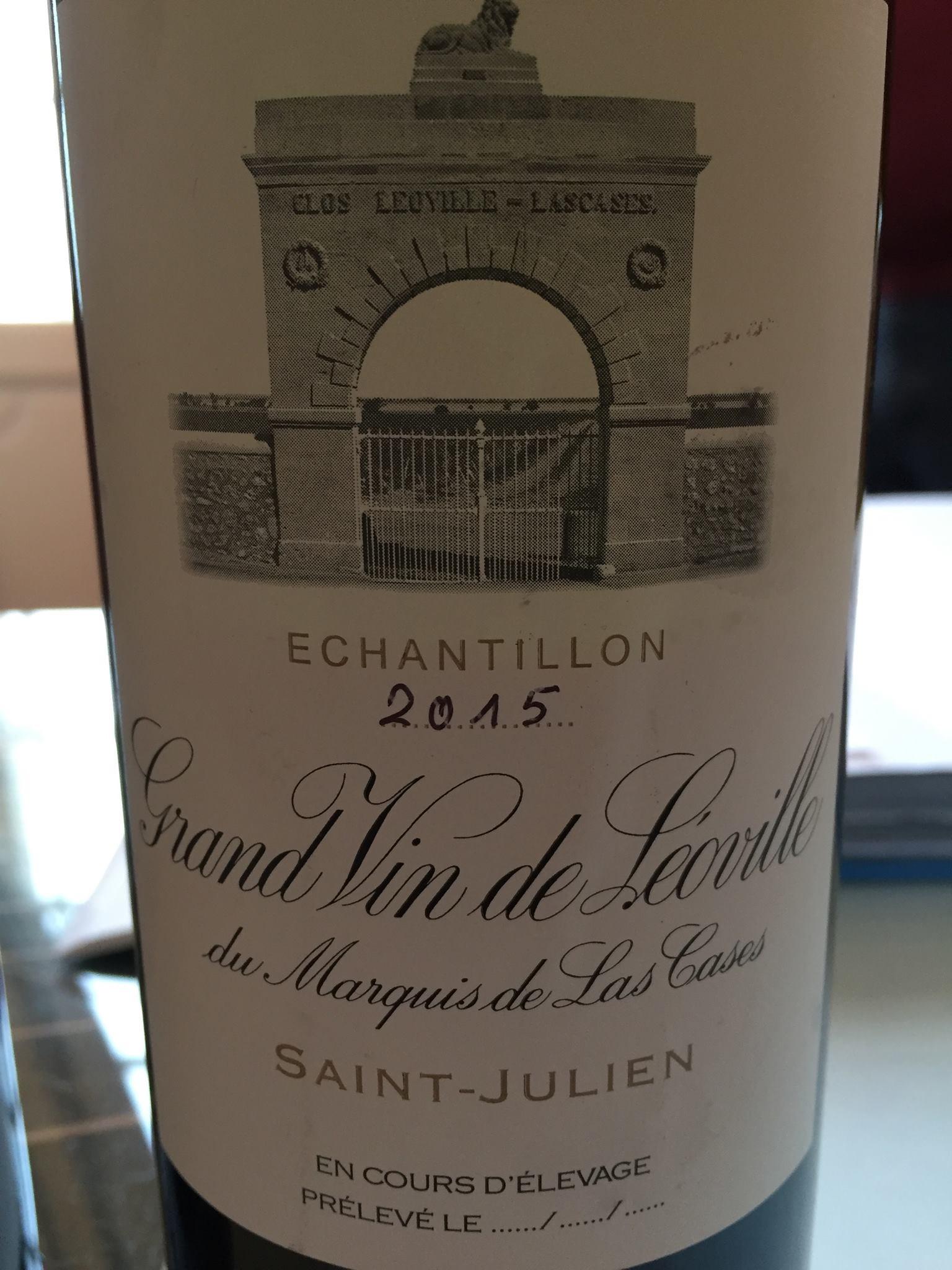 Grand Vin de Léoville du Marquis de Las Cases 2015 – Saint-Julien, Grand Cru Classé