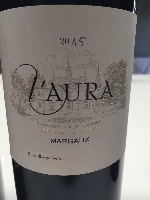 L'aura de Cambon La Pelouse 2015 – Margaux