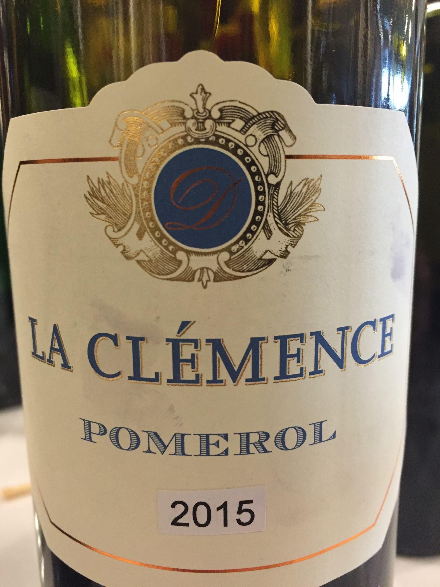 La Clémence 2015 – Pomerol