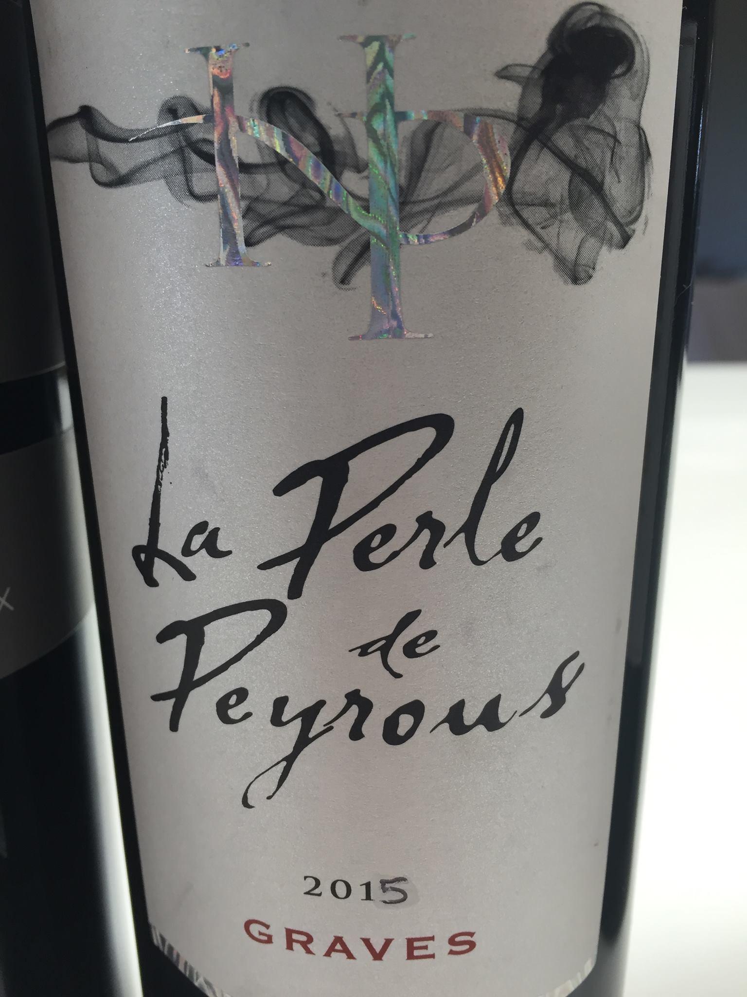 La Perle de Peyrous 2015 – Graves