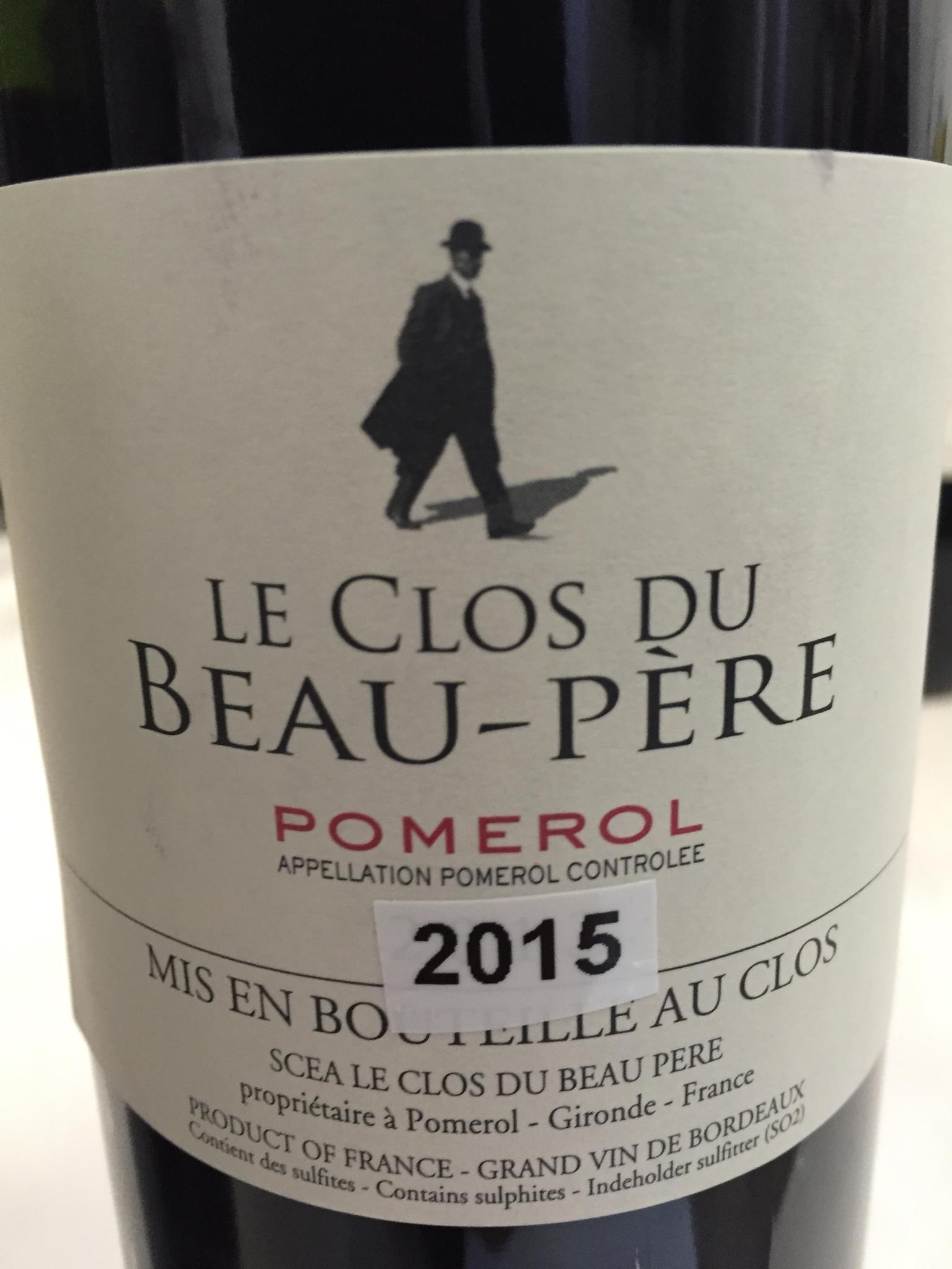 Le Clos du Beau-Père 2015 – Pomerol