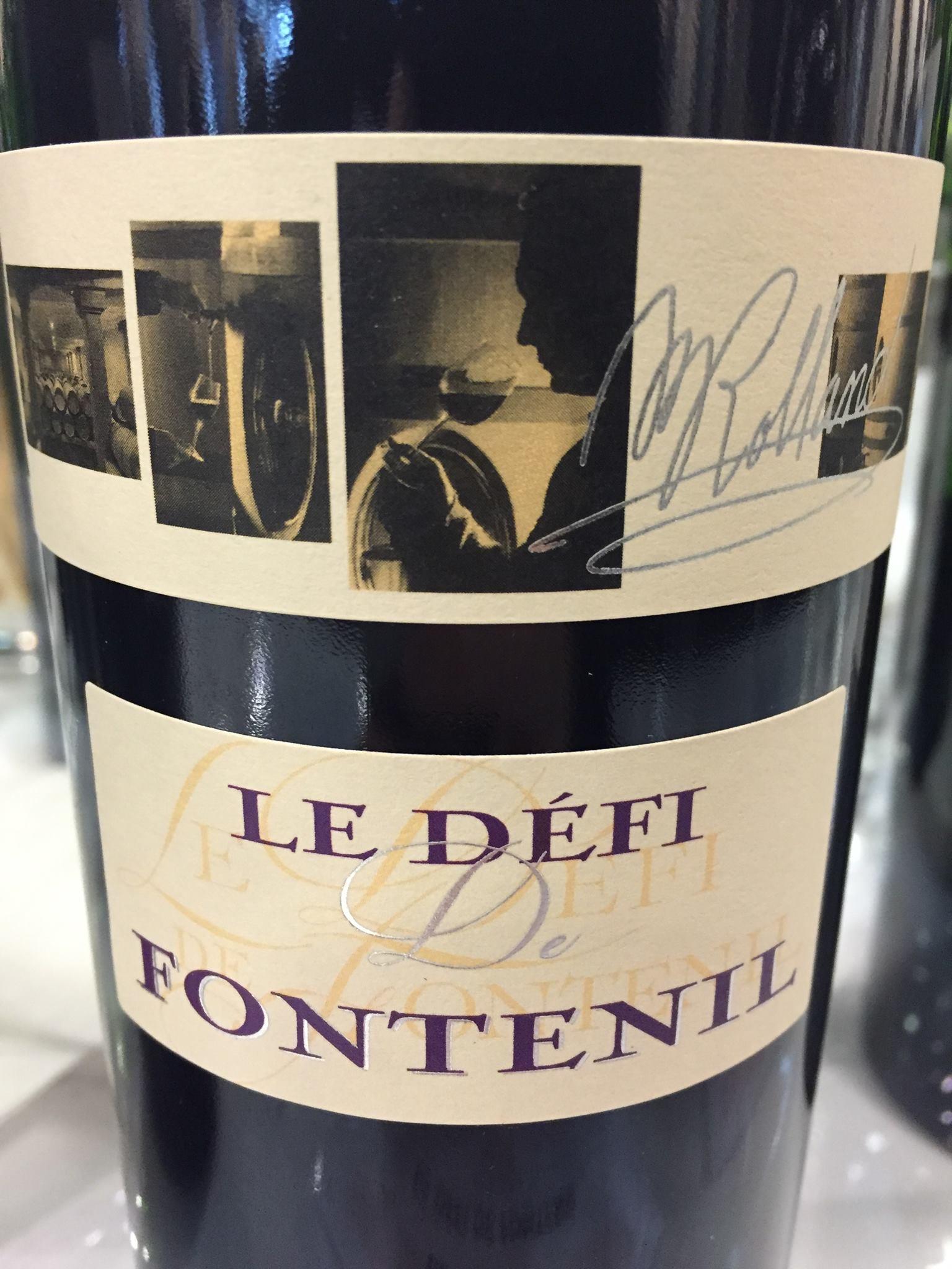 Le Défi de Fontenil 2015 – Vin de France