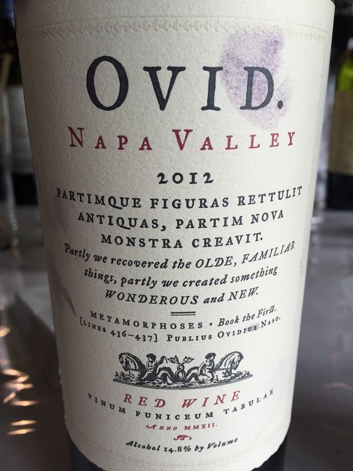 OVID 2012 – Red Wine – Napa Valley