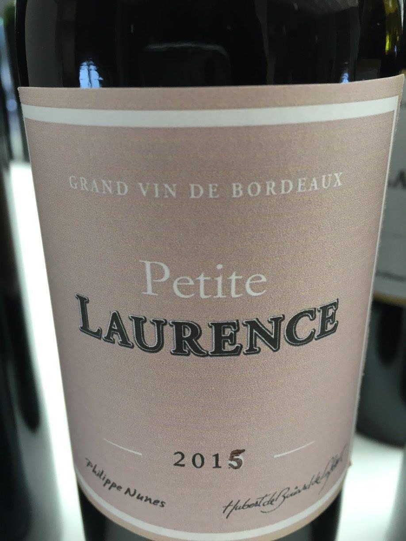 Petite Laurence 2015 – Bordeaux Supérieur