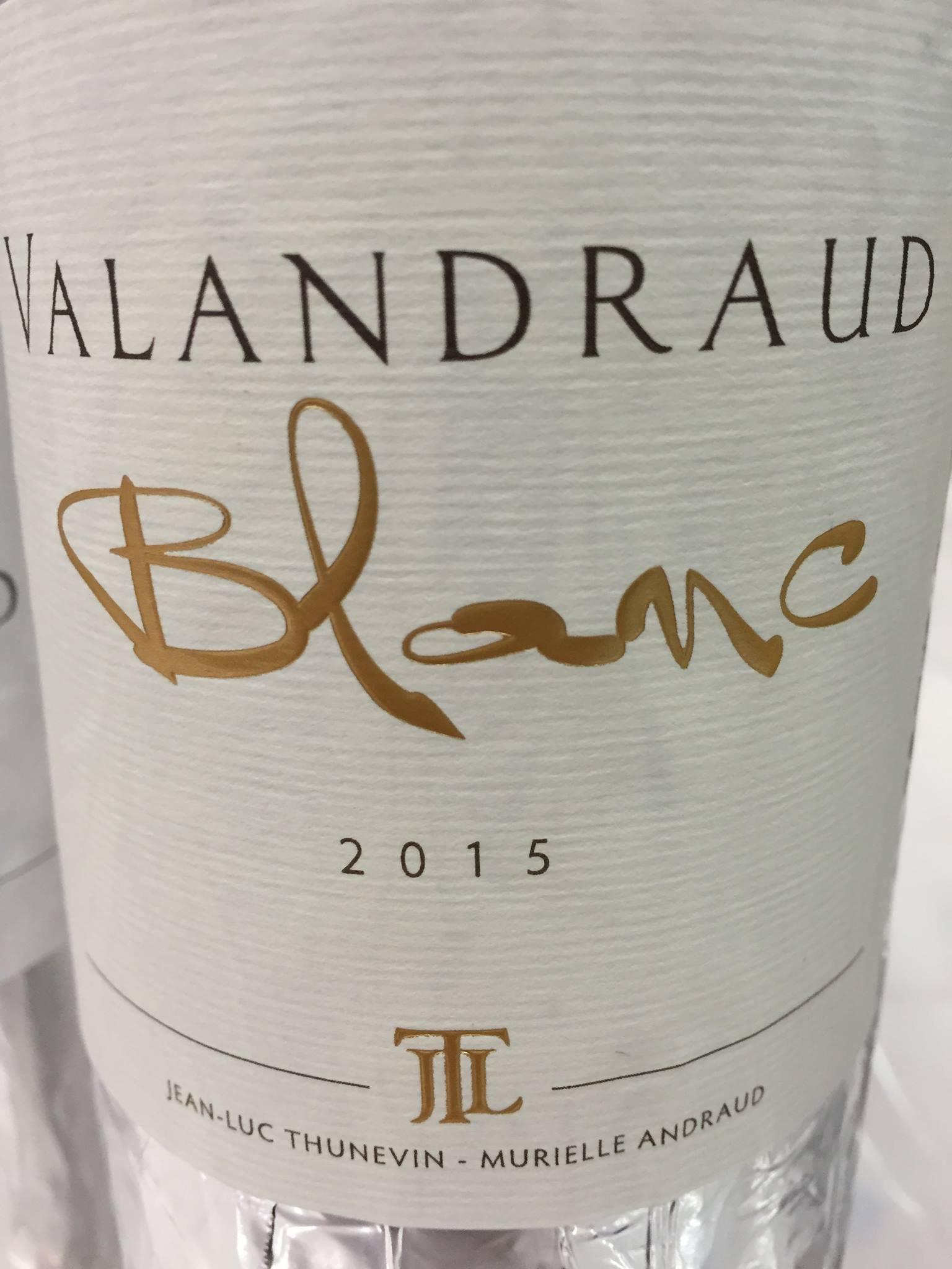 Virginie de Valandraud Blanc 2015 – Bordeaux