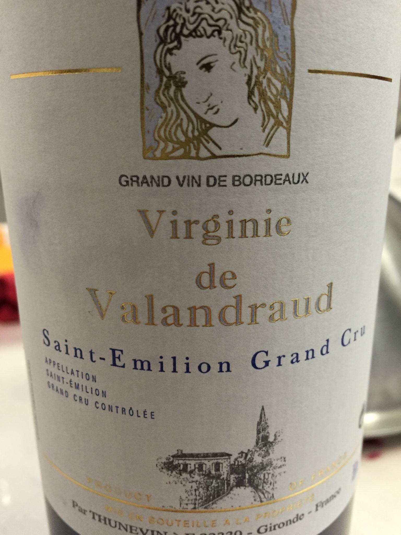 Virginie de Valandraud 2015 – Saint-Emilion Grand Cru