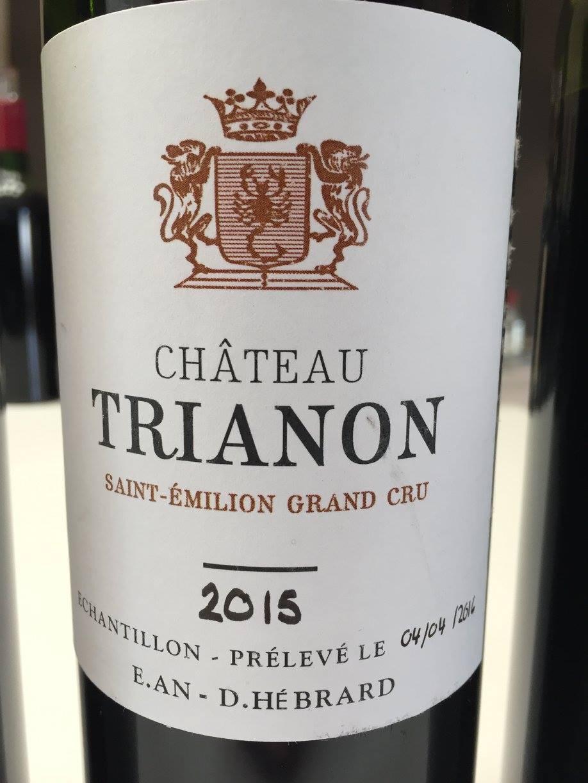 Château Trianon 2015 – Saint-Emilion Grand Cru