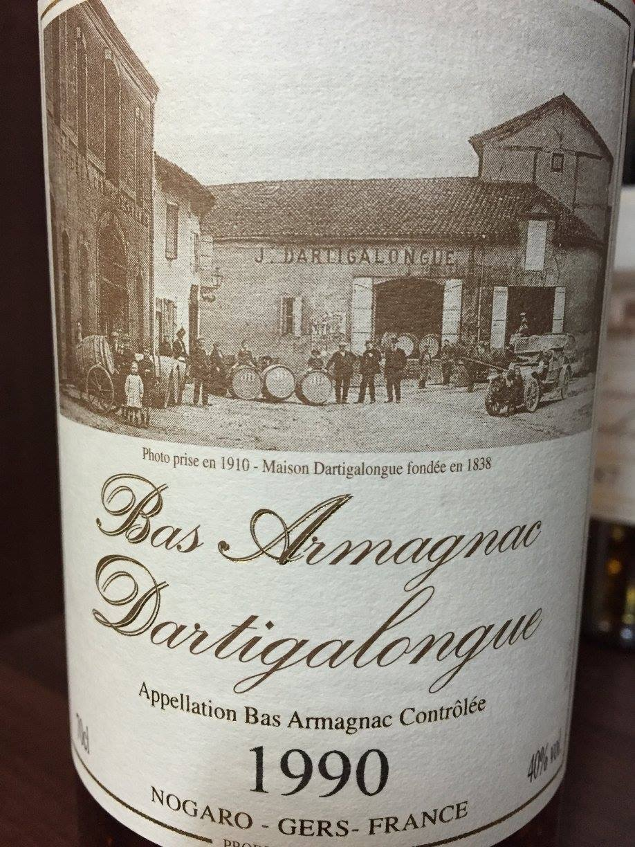 Dartigalongue 1990 – Bas-Armagnac