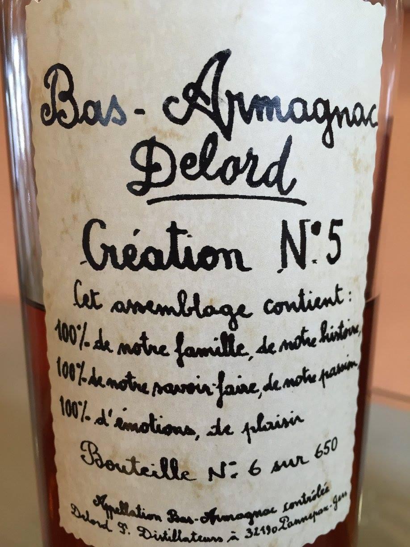 Delord Création N°5 – Bas-Armagnac