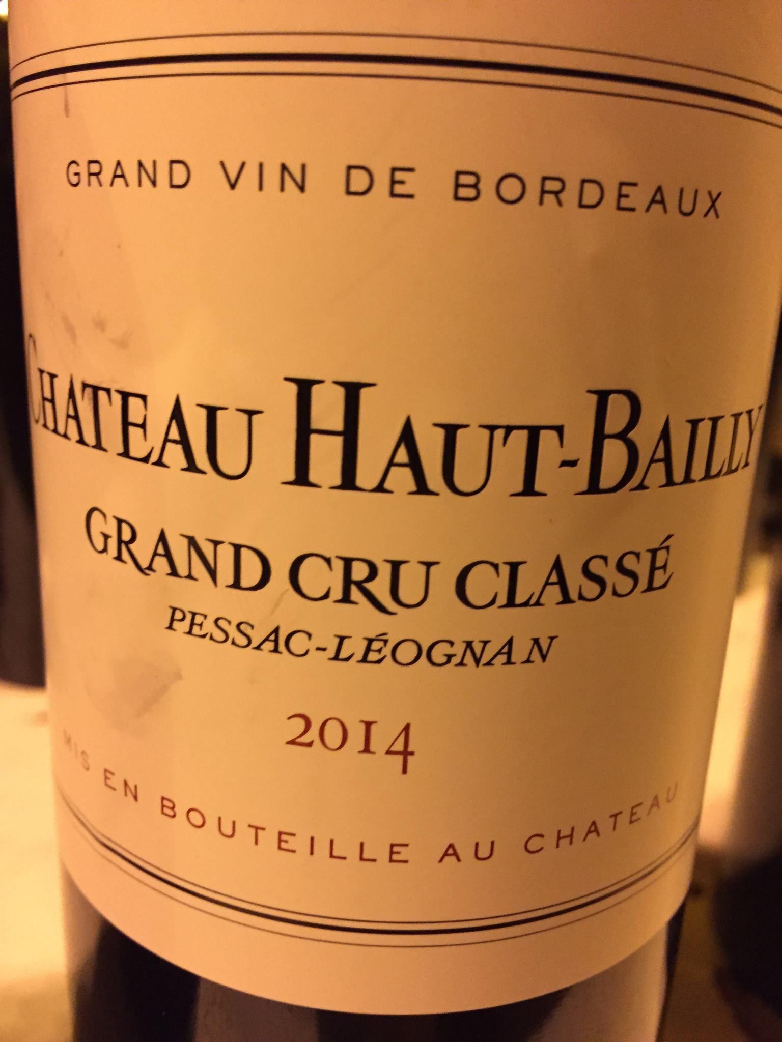 Château Haut-Bailly 2014 – Pessac-Léognan, Grand Cru Classé de Graves