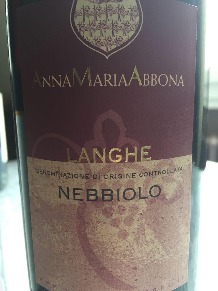 Anna Maria Abbona – Nebbiolo 2013 – Langhe