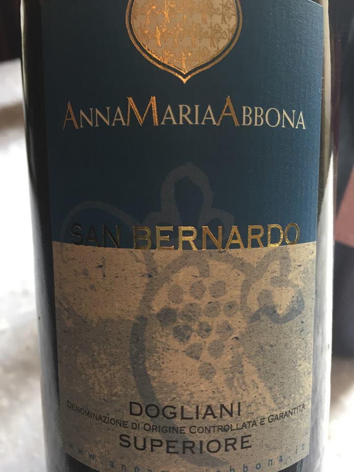 Anna Maria Abbona – San Bernardo 2012 – Dogliani Superiore