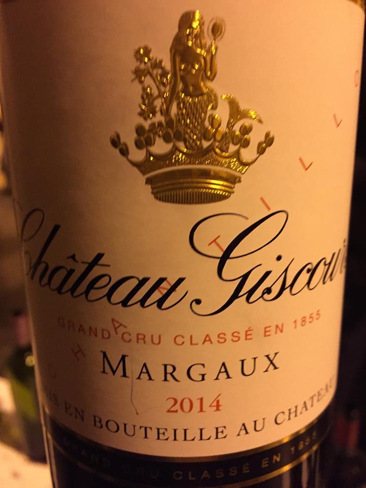 Château Giscours 2014 – Margaux, 3ème Cru Classé