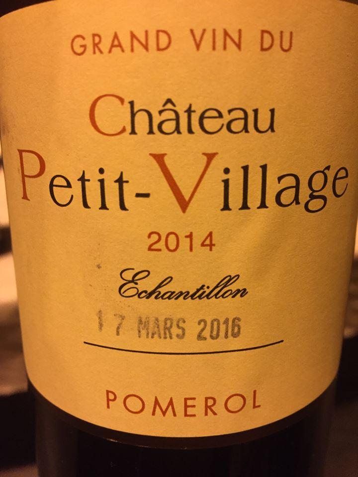 Château Petit-Village 2014 – Pomerol