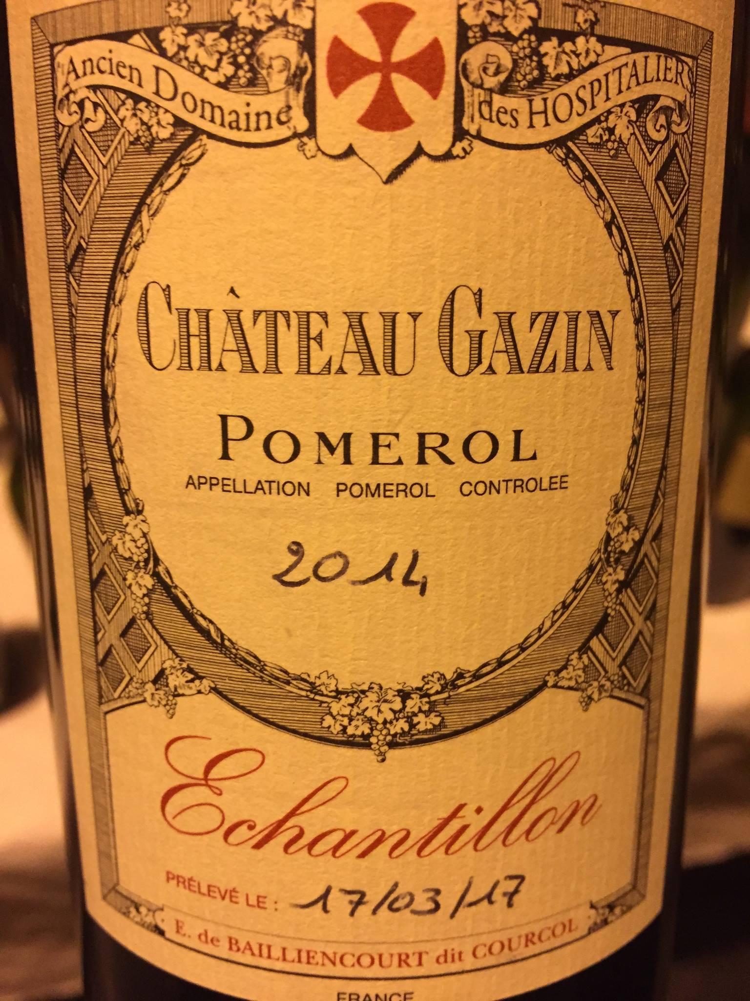 Château Gazin 2014 – Pomerol