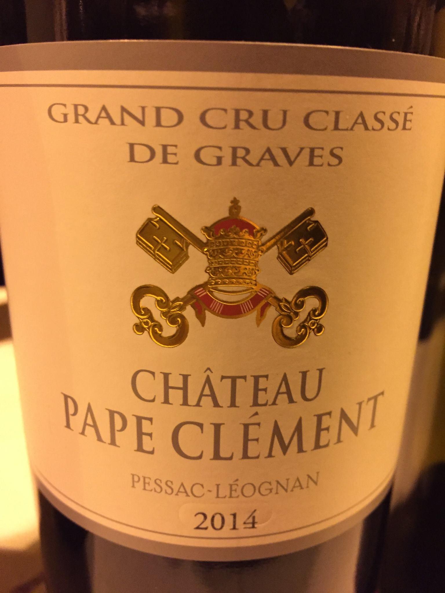 Château Pape Clément 2014 – Pessac-Léognan, Grand Cru Classé de Graves