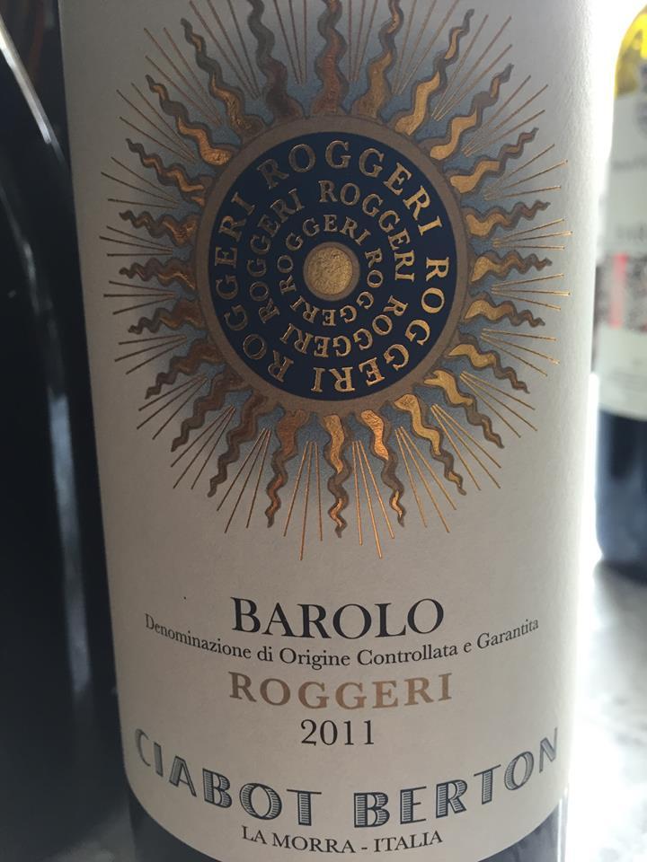 Ciabot Berton – Roggeri 2011 – Barolo