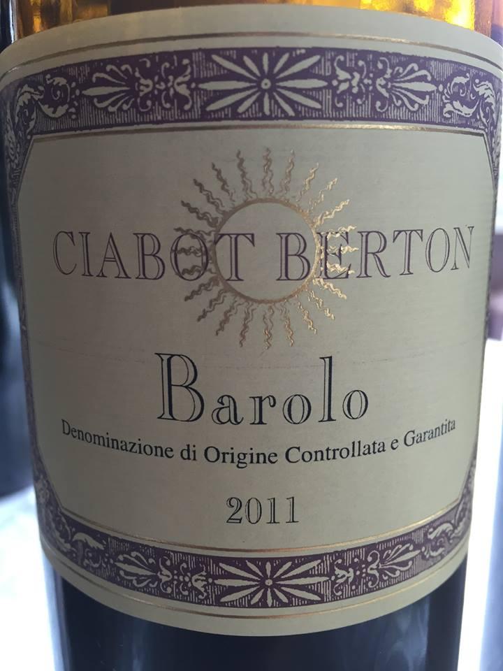 Ciabot Berton 2011 – Barolo
