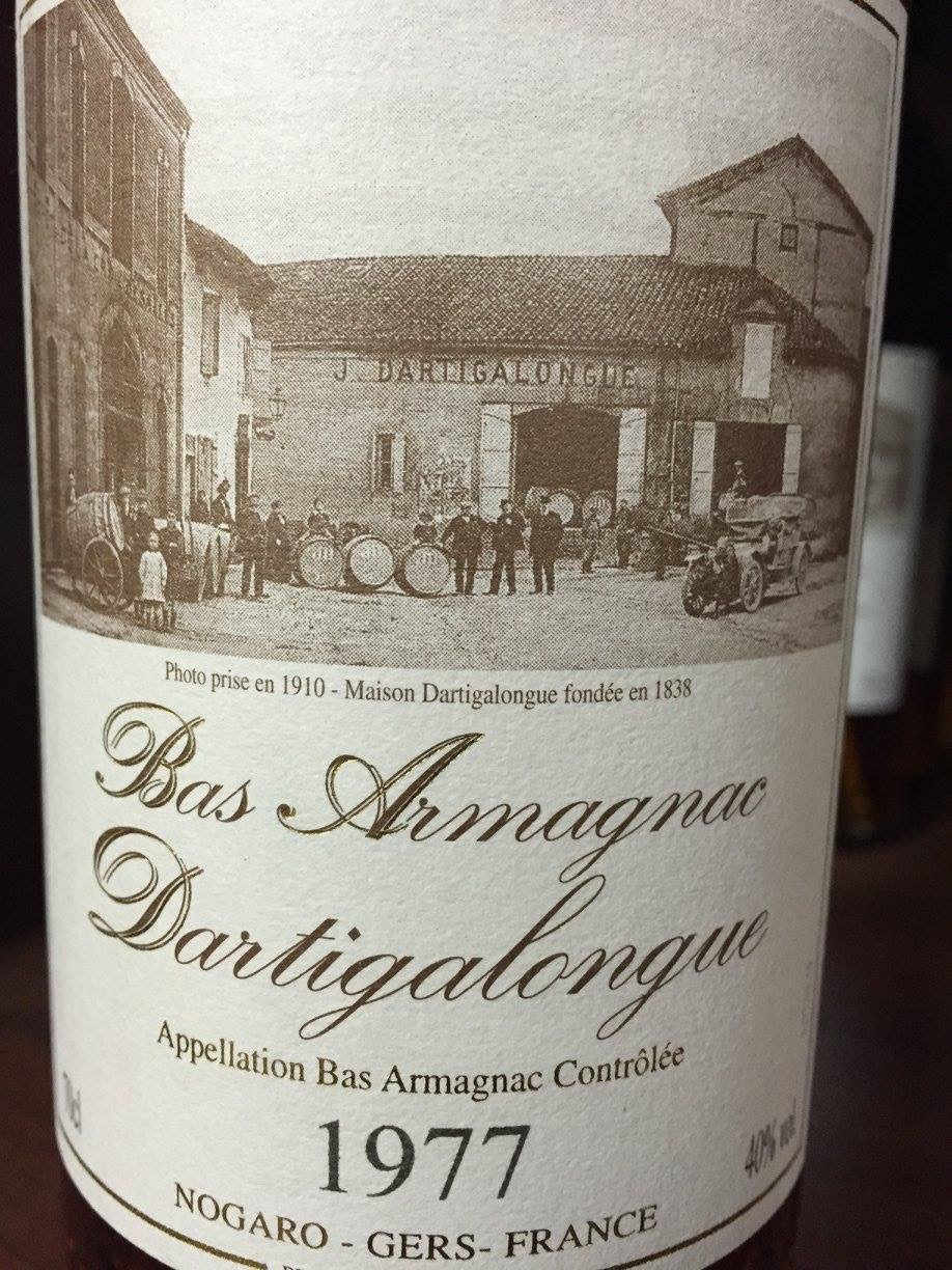 Dartigalongue 1977 – Bas-Armagnac