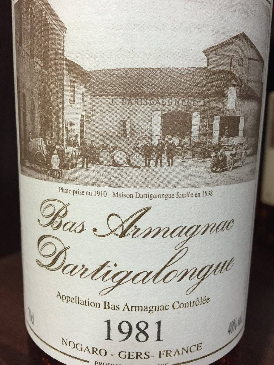 Dartigalongue 1981 – Bas-Armagnac