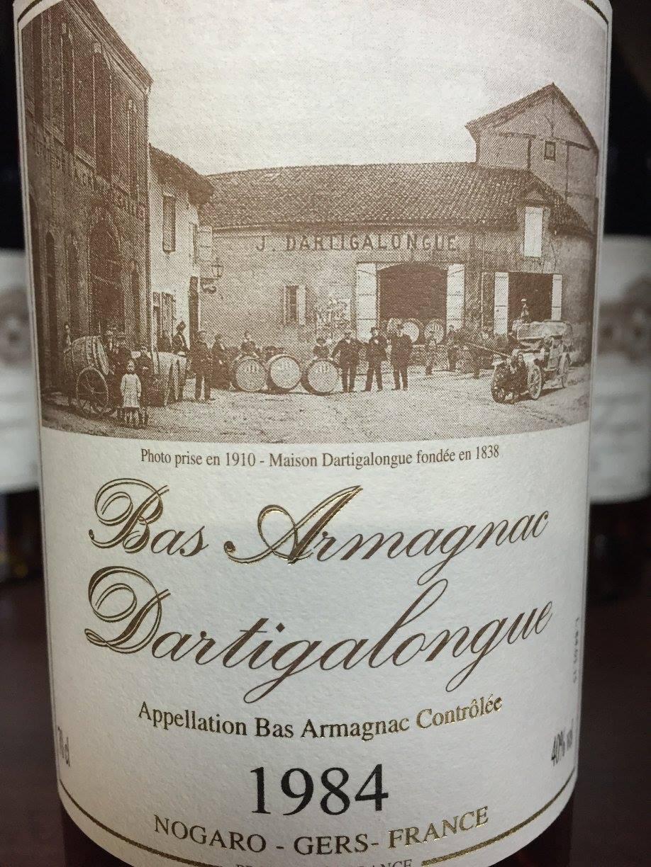 Dartigalongue 1984 – Bas-Armagnac