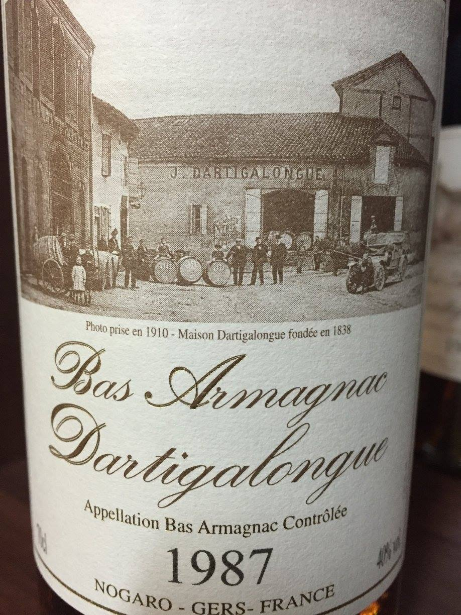Dartigalongue 1987 – Bas-Armagnac