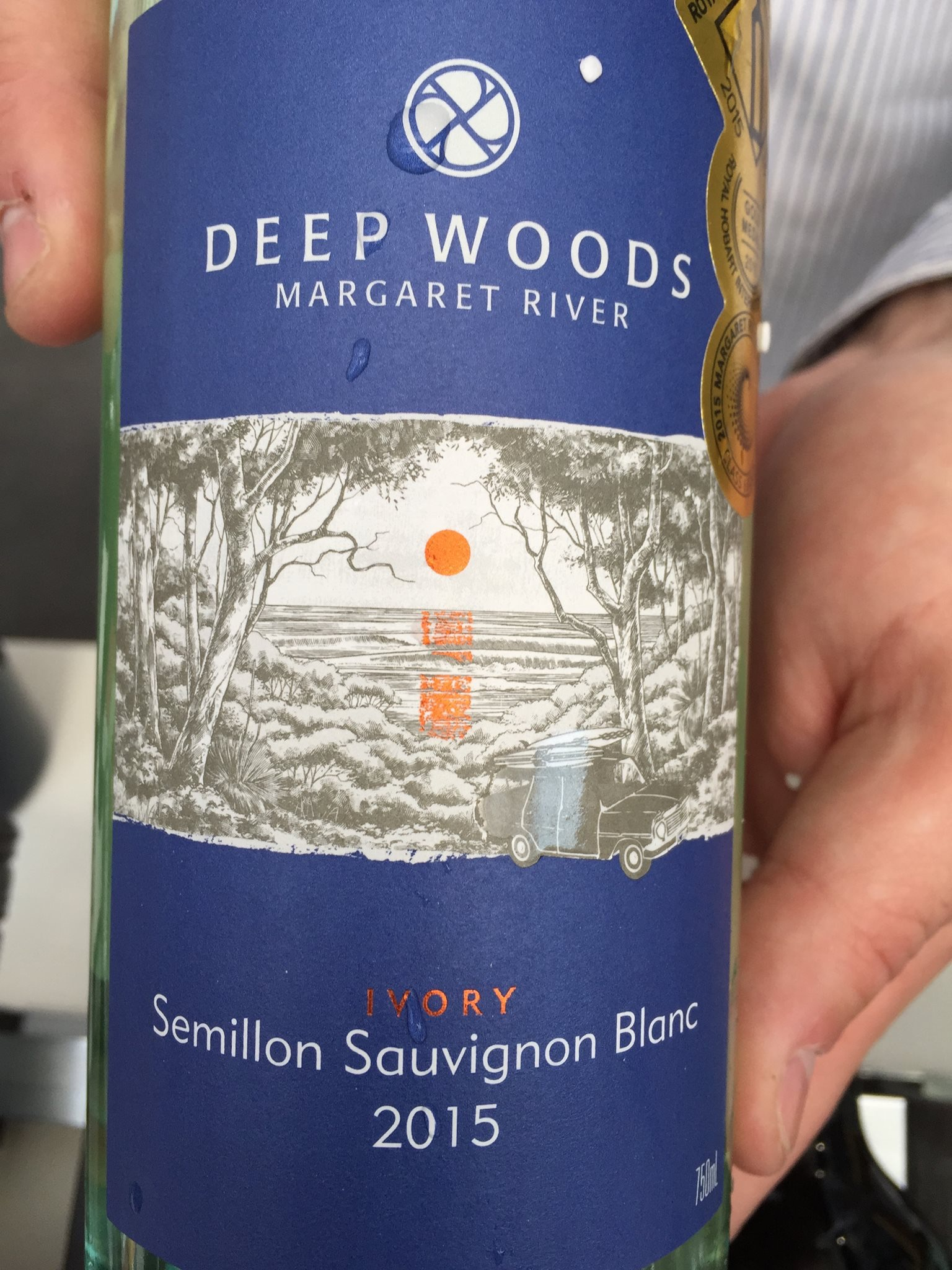 Deep Woods – Ivory – Semillon Sauvignon blanc 2015 – Margaret River
