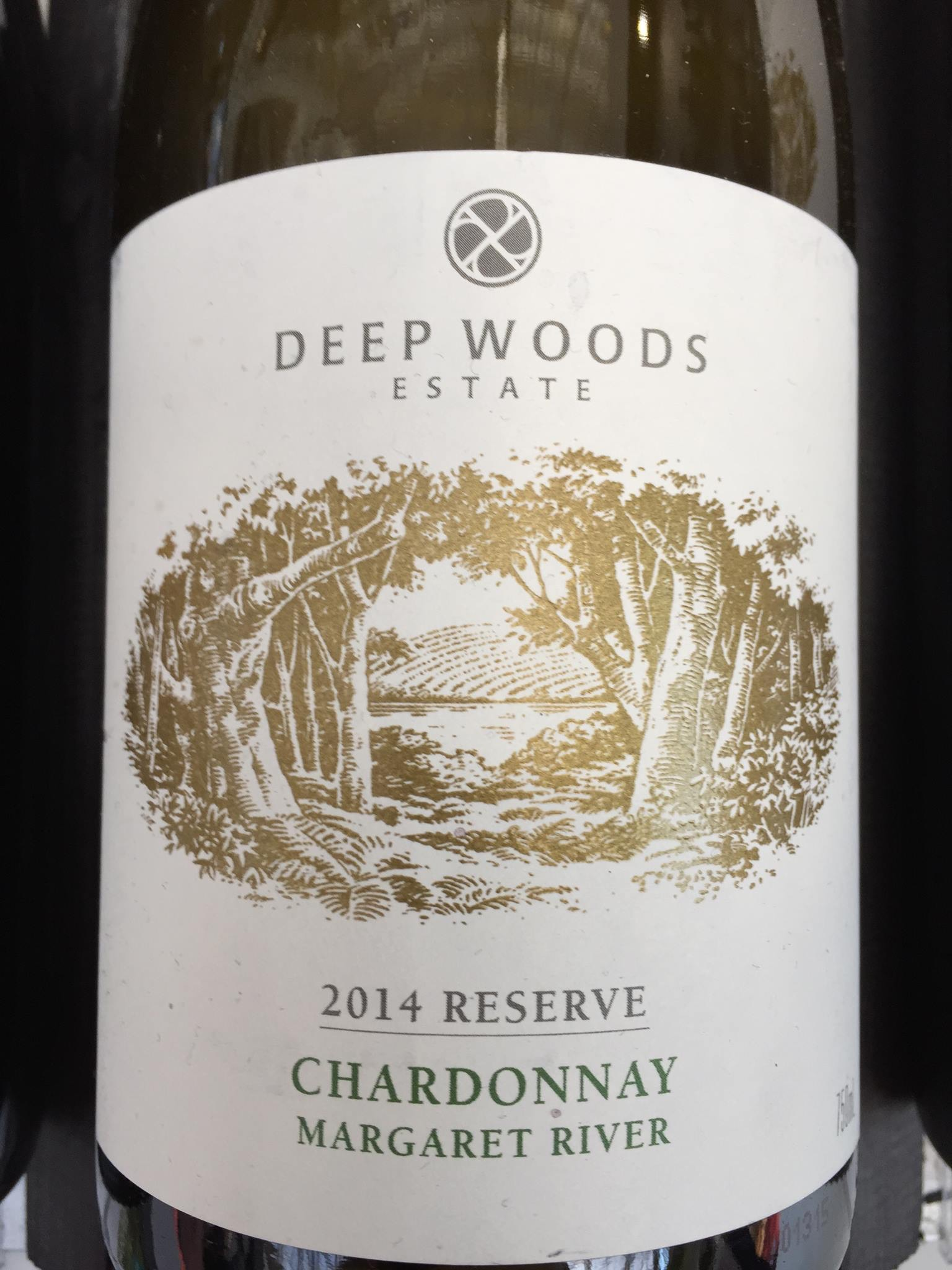 Deep Woods Estate – Chardonnay 2014 Reserve – Margaret River