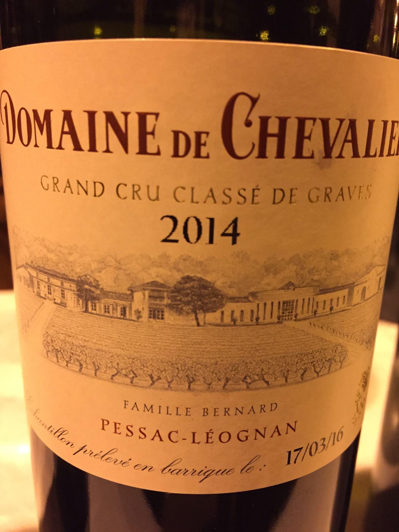 Domaine de Chevalier 2014 – Pessac-Léognan, Grand Cru Classé de Graves