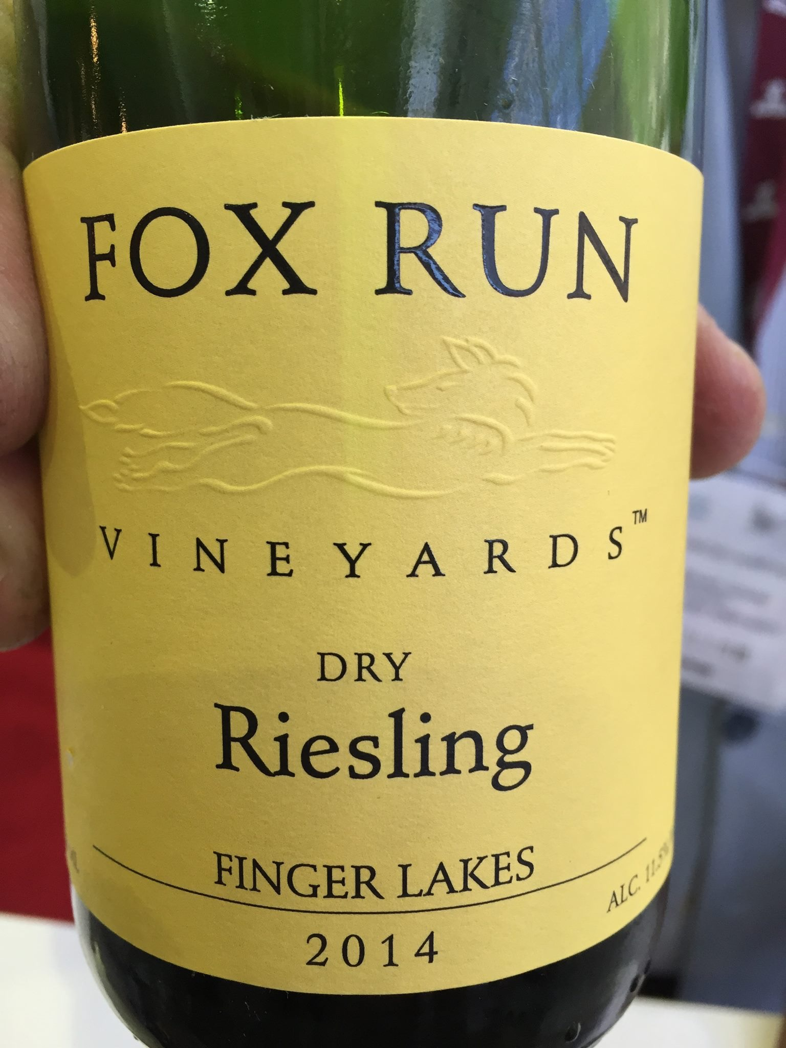 Fox Run Vineyards – Dry Riesling 2014 – Finger Lakes