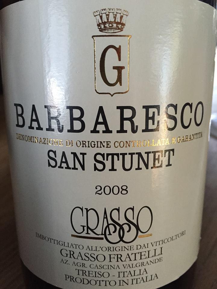 Grasso Fratelli – San Stunet 2008 – Barbaresco DOCG
