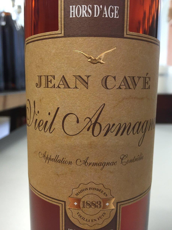 Jean Cavé – Hors d'Age – Vieil Armagnac