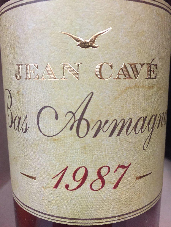 Jean Cavé 1987 – Bas-Armagnac
