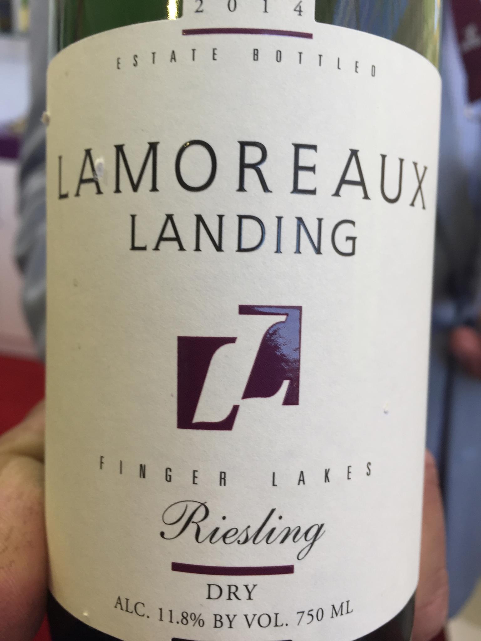 Lamoreaux Landing – Riesling 2014 – Finger Lakes