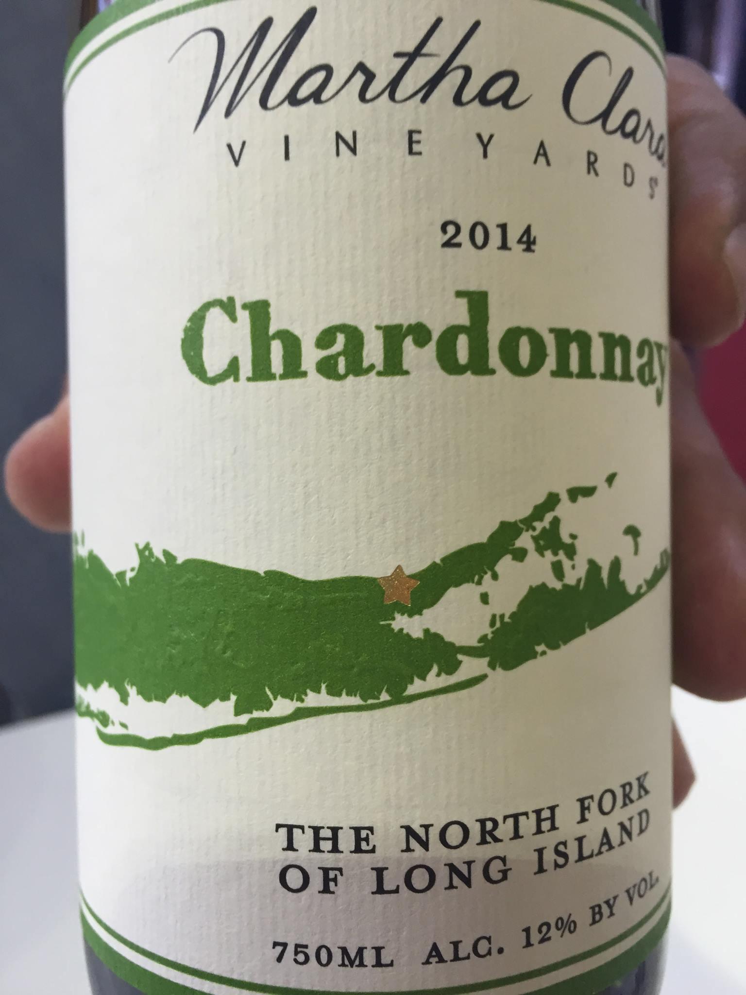 Martha Clara Vineyards – Chardonnay 2014 – The North Fork of Long Island