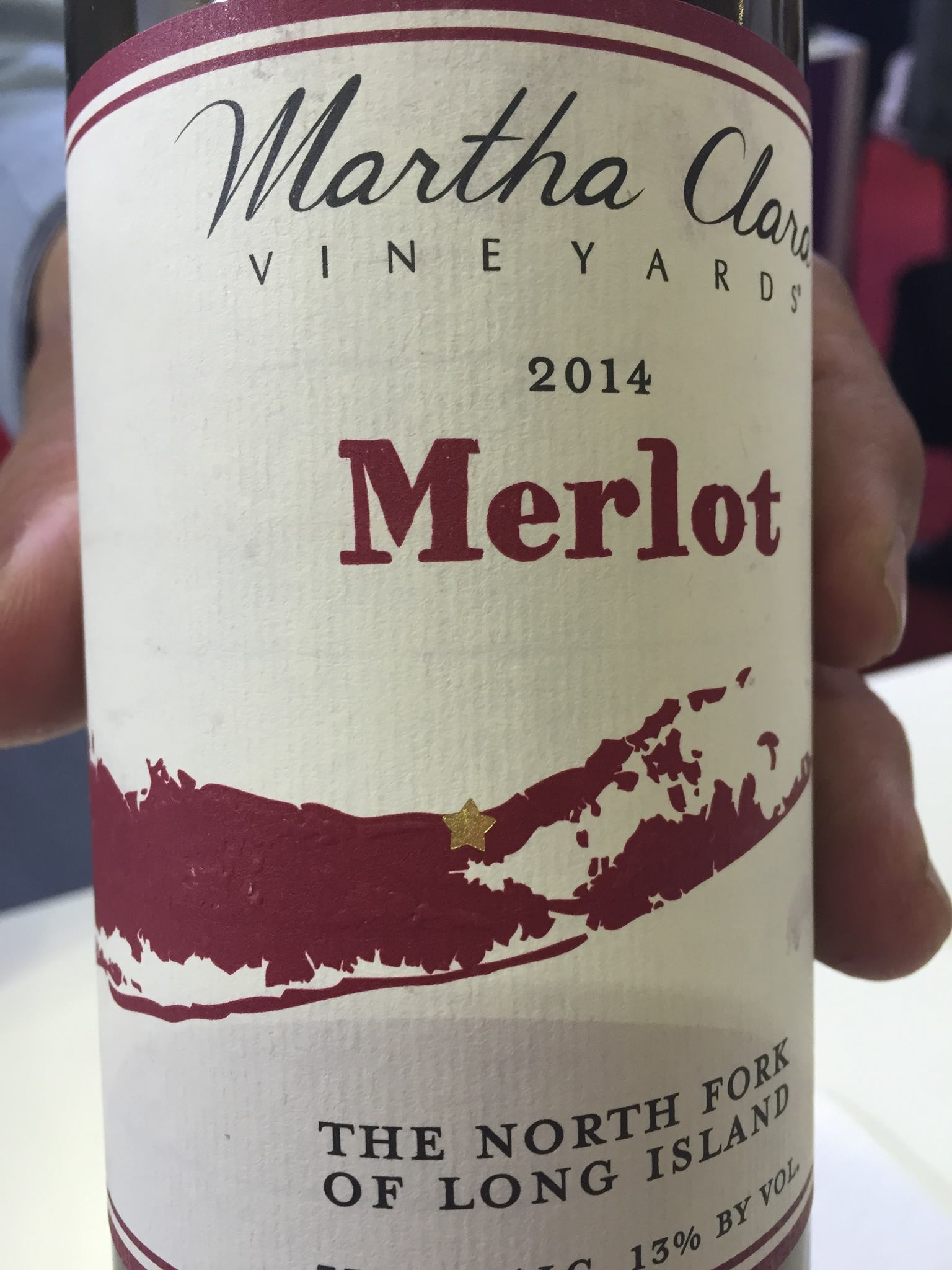 Martha Clara Vineyards – Merlot 2014 – The North Fork of Long Island