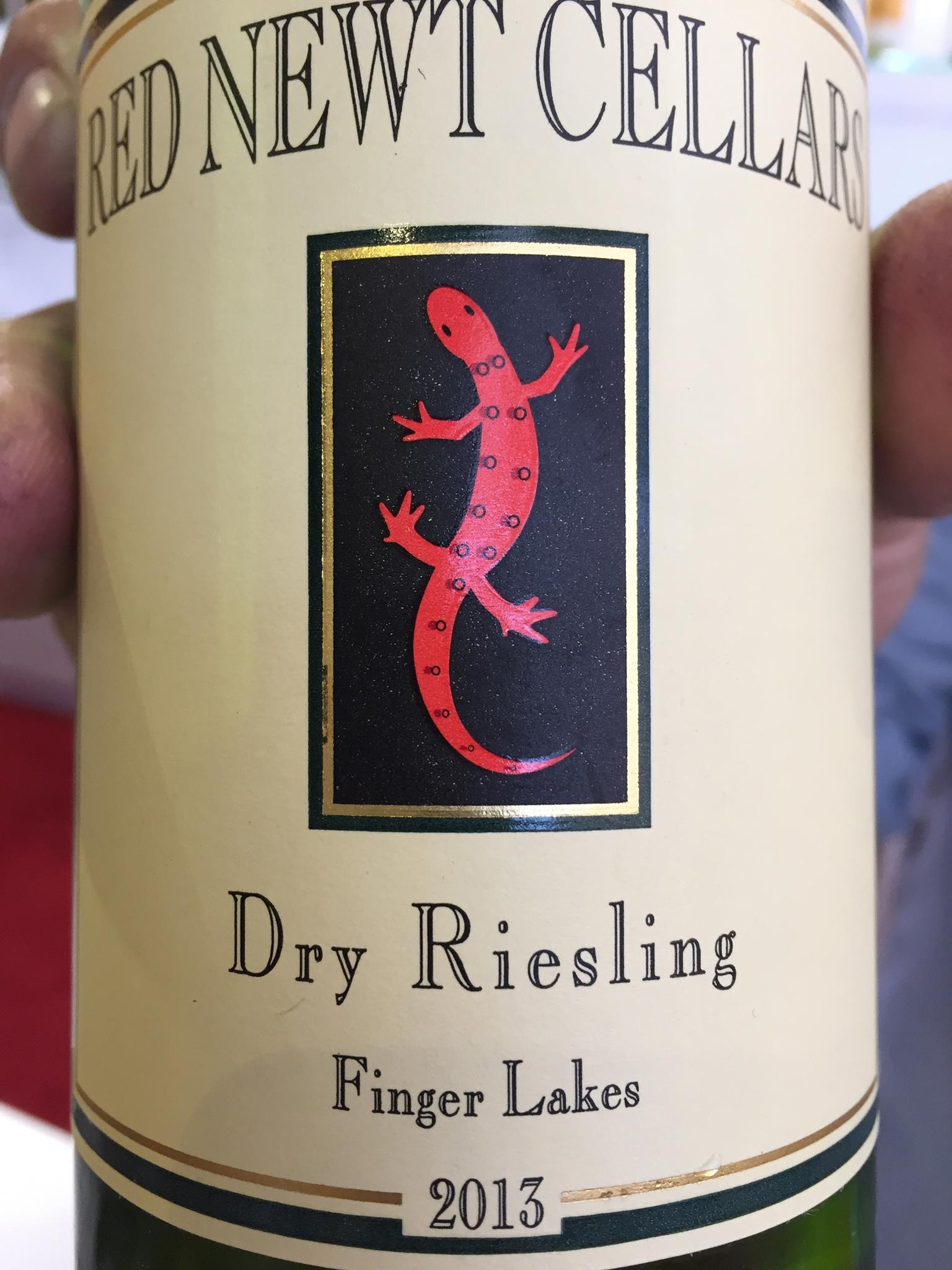 Red Newt Cellars – Dry Riesling 2013 – Finger Lakes