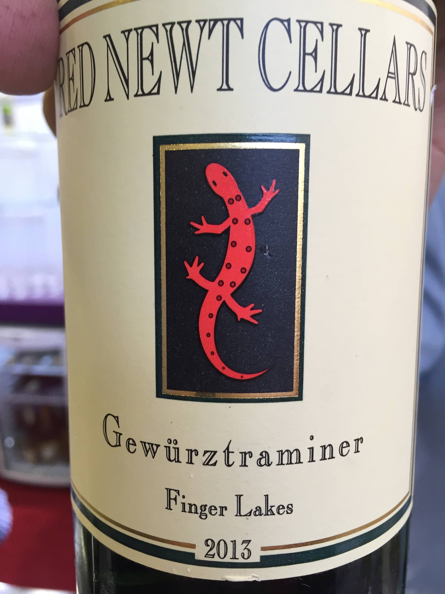 Red Newt Cellars – Gewürztraminer 2013 – Finger Lakes