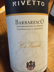 Rivetto – Cé Vanin 2012 – Barbaresco DOCG