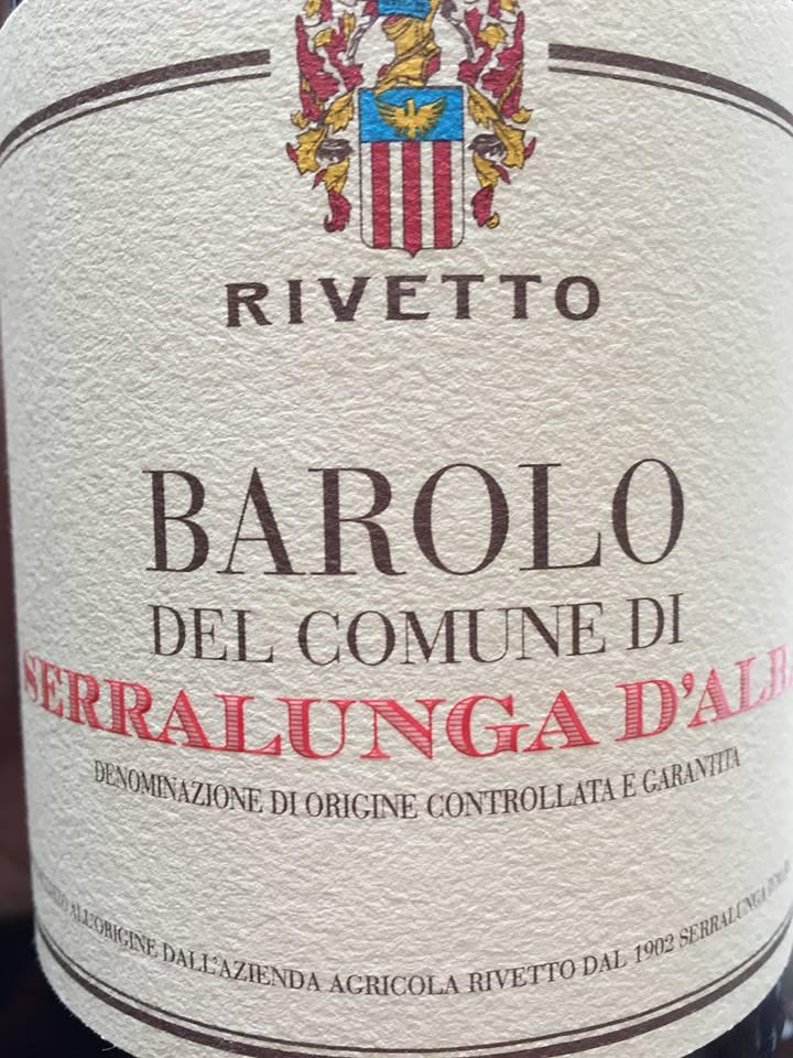 Rivetto – Serralunga d'Alba 2012 – Barolo DOCG