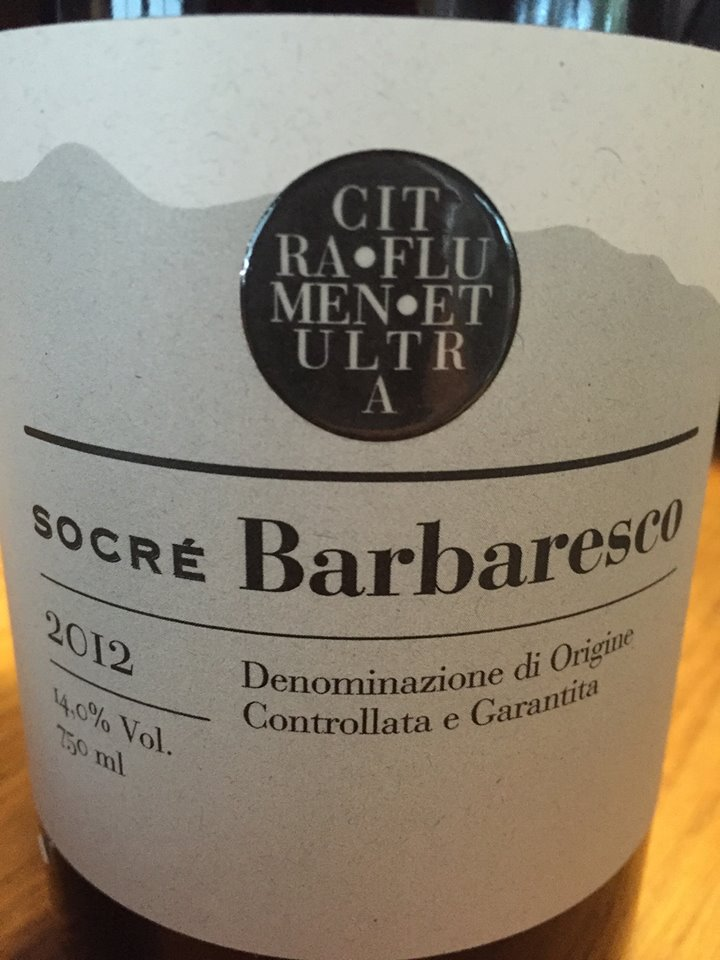 Socré 2012 – Barbaresco DOCG