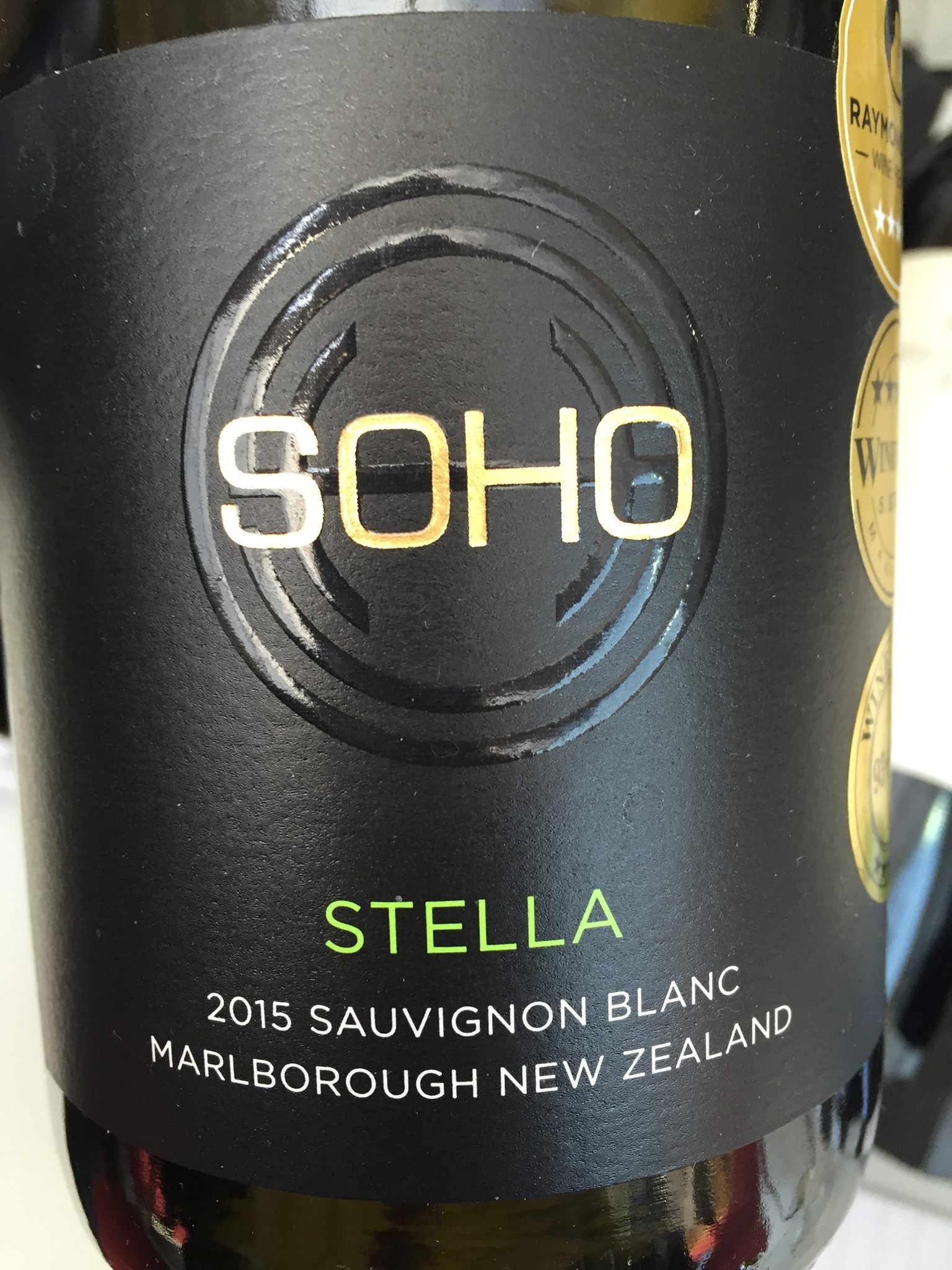 Soho – Stella – Sauvignon Blanc 2015 – Marlborough