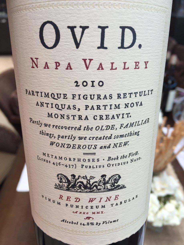 OVID 2010 – Napa Valley