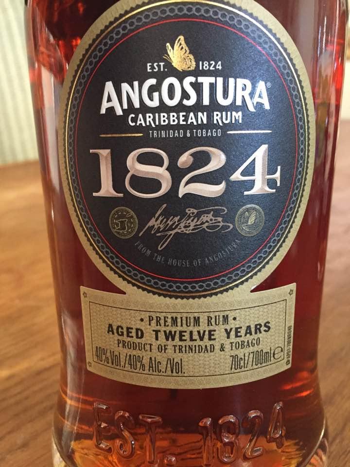 Angostura 1824 – Premium Rum – Aged Twelve Years – Trinidad & Tobago