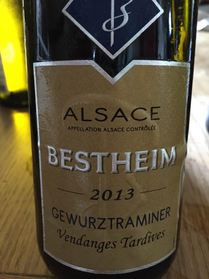 Bestheim – Gewurztraminer 2013 – Vendanges Tardives – Alsace