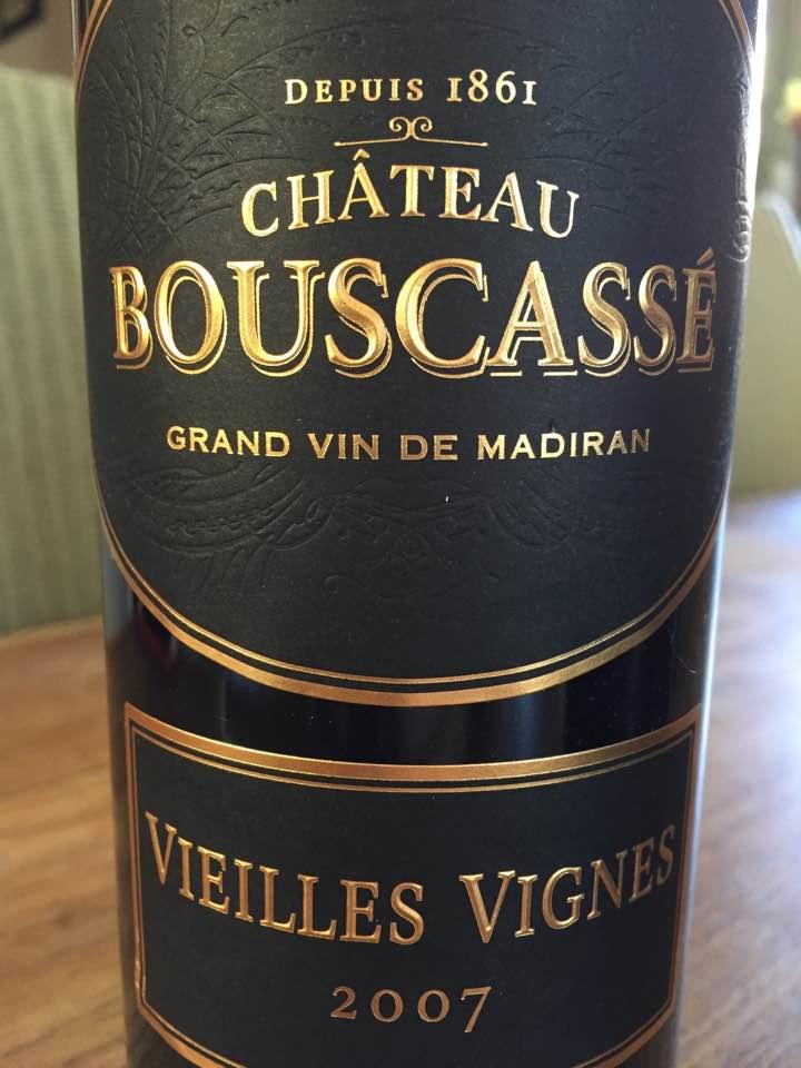 Château Bouscassé – Vieilles Vignes 2007 – Madiran