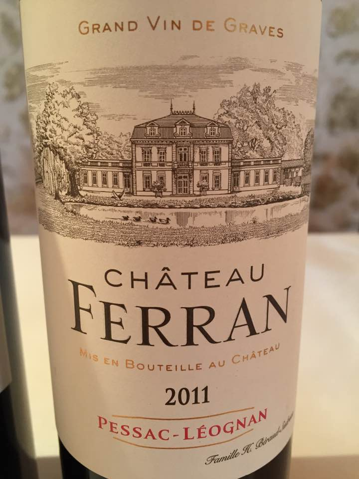 Château Ferran 2011 – Pessac-Léognan